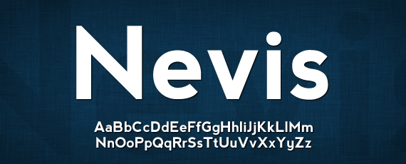 Nevis great free font