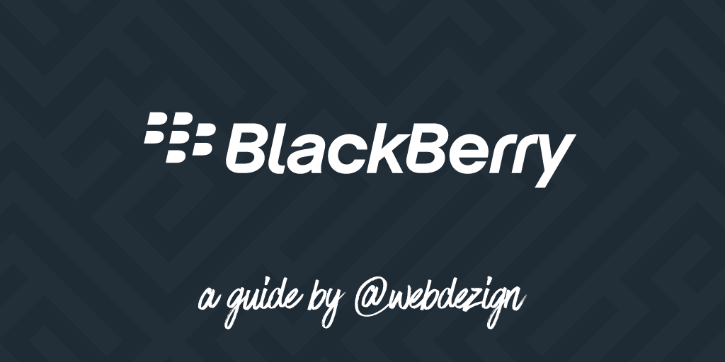 Setting up an email account on your BlackBerry