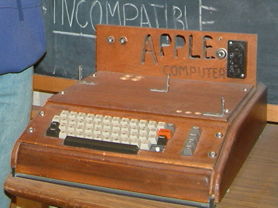 The first ever Apple computer