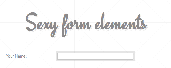 form css