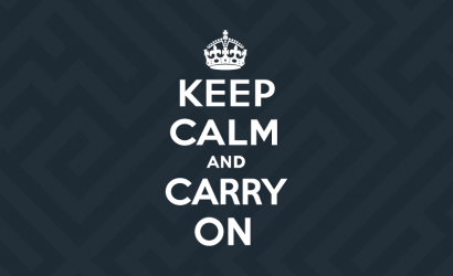 (cookies) KEEP CALM & CARRY ON