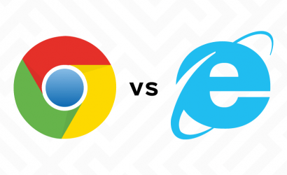 Browser stats, Chrome has overtaken IE