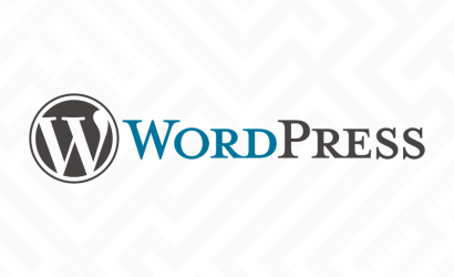 We use WordPress