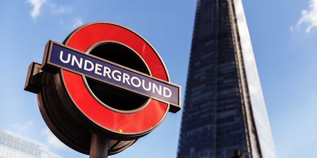 Underground logo london