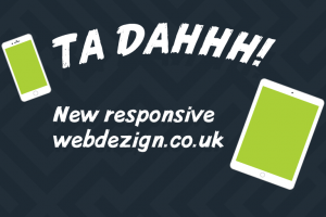 New responsive website launched... finally! - (Web designers London)