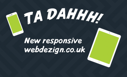 New responsive website launched… finally!