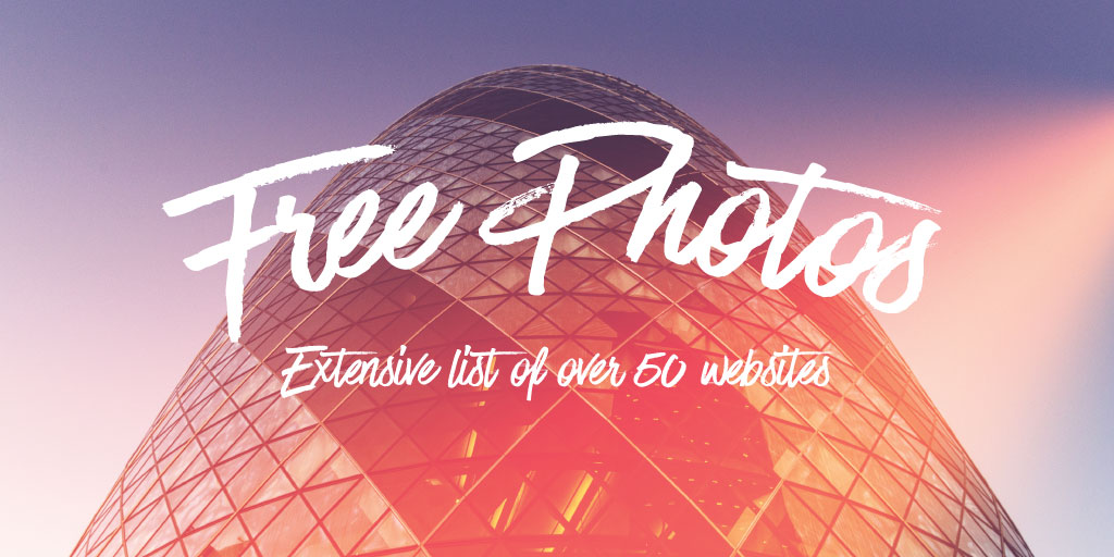 Websites with Free Stock Photos