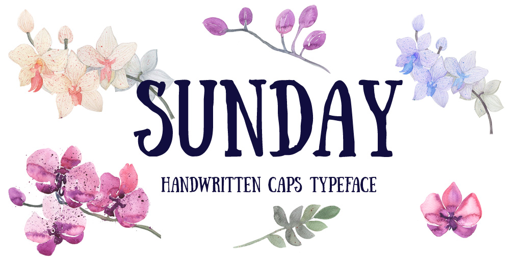 Free fonts - Sunday