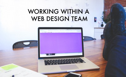 What's it like to work within a web design team