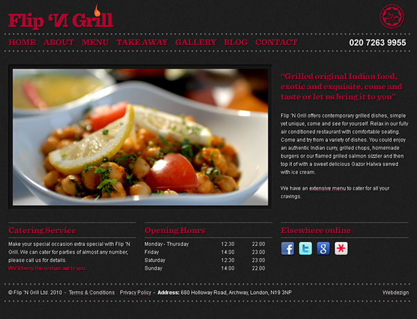 Flip 'N Grill - WordPress