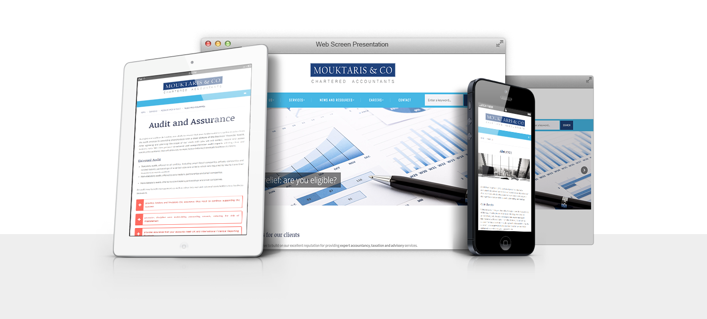 Chartered Accountants | Active Webdezign Web Designers London